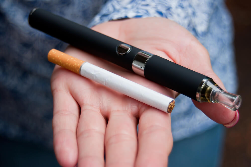 E-sigara normal sigaradan daha zararlı